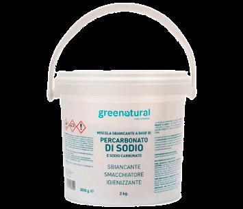 Greenatural_Miscela Sbiancante a base di Percarbonato di Sodio e Sodio Carbonato_La Casa di Terra