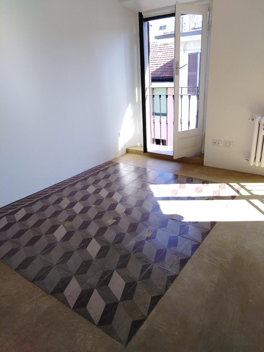 Ristrutturazione cementite e pavimento in calce lamata_La Casa di Terra-3